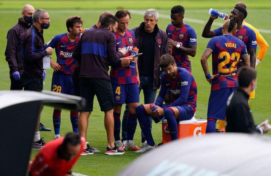 Barcelona pare într-o situație fără ieșire în acest final de sezon postpandemie // Sursă foto: Getty