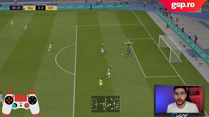 """Cum poți evita fundașul advers în FIFA 20? Îți explica """"Ovvy"""", într-un nou tutorial pe GSP.ro"""