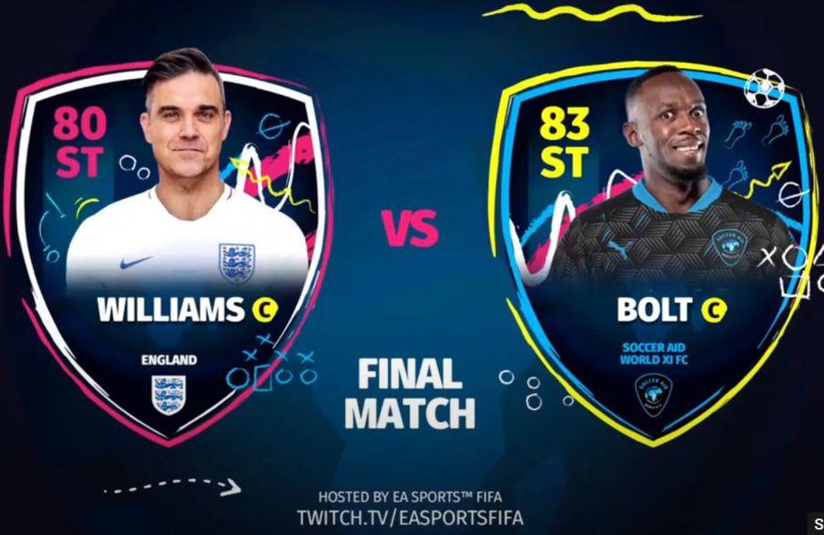 """Echipa lui Robbie Williams a câștigat """"turneul celebrităților"""" în FIFA 20"""