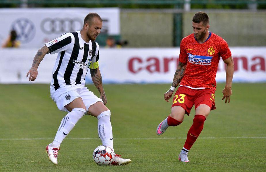 Astra și FCSB închid etapa cu numărul 5 din play-off-ul Ligii 1