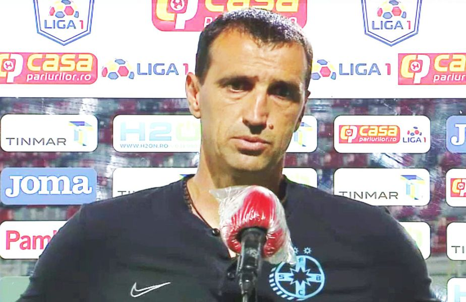 Bogdan Vintilă după Astra - FCSB 3-2. Captură TV Telekom Sport