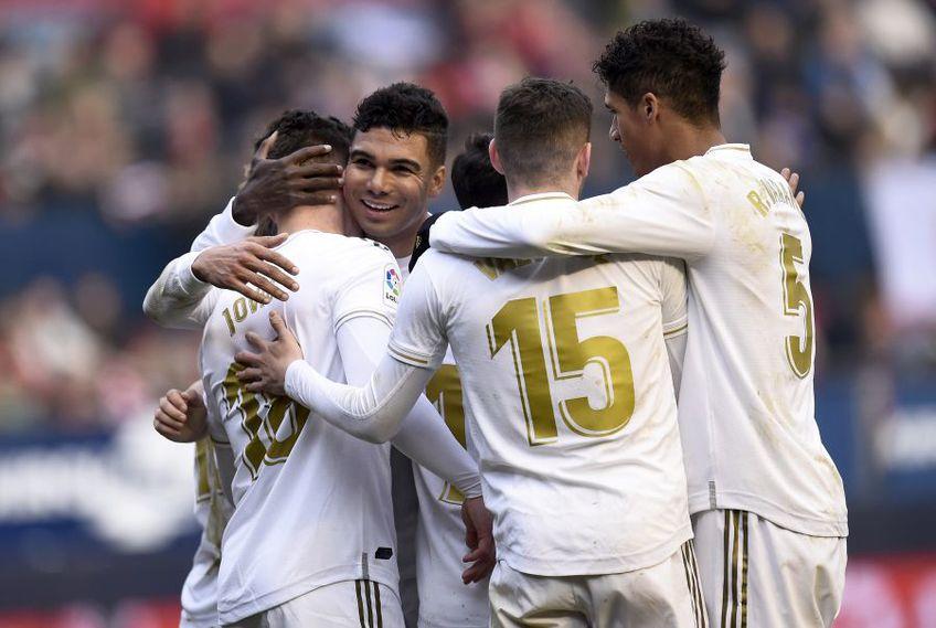 Real Madrid a fost numit drept cel mai valoros brand din fotbal de către Brand Finance // foto: Guliver/gettyimages