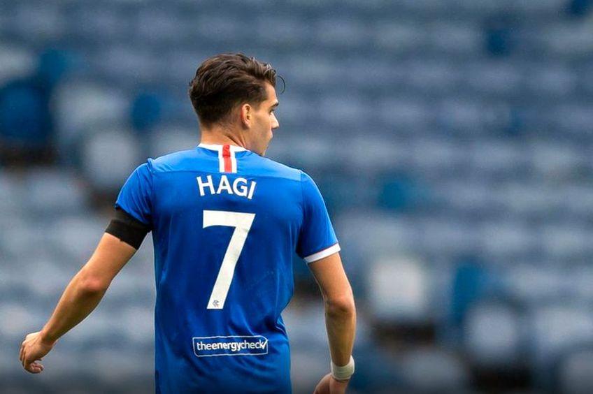 Ianis Hagi, în Rangers - Coventry 2-0 // foto: rangers.co.uk