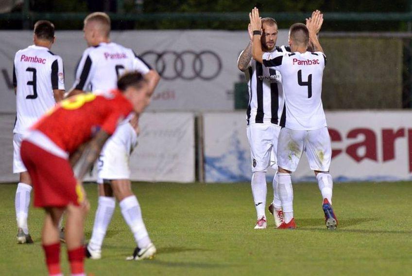 Astra ocupă a treia poziție în Liga 1
