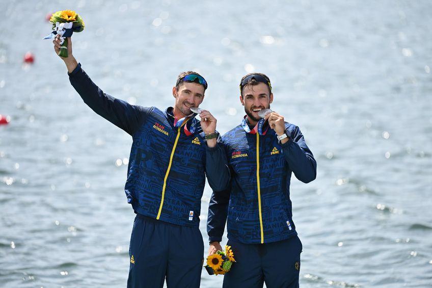 Marius Cozmiuc (28 de ani) și Ciprian Tudosă (24 de ani) au obținut în această dimineață medalia de argint în finala la dublu rame masculin.