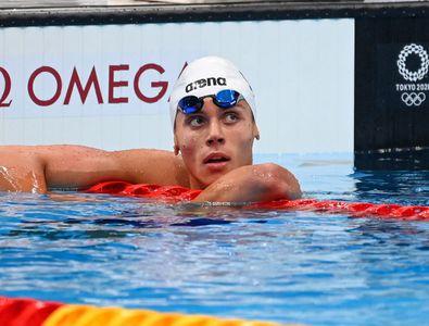 """David Popovici s-a clasat pe locul 7 în finala de la 100 de metri liber! """"Bestia"""" Dressel, de neoprit!"""