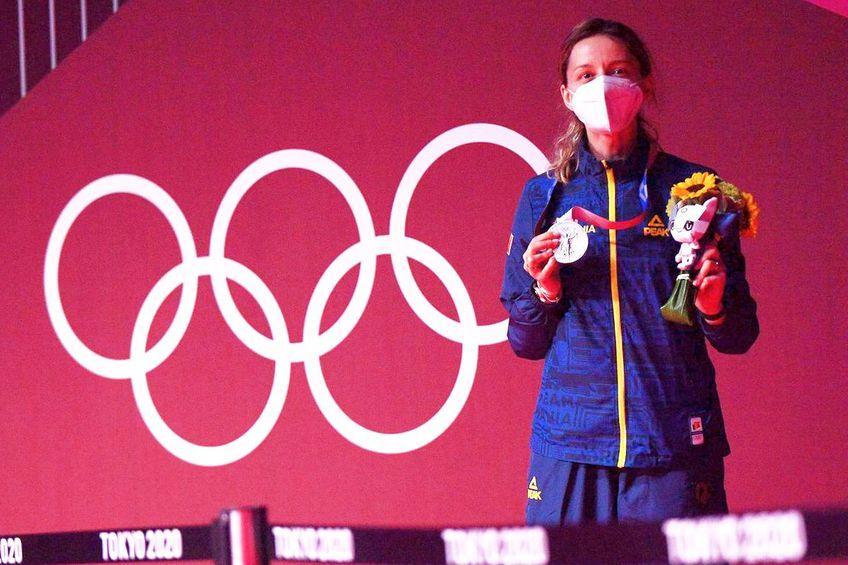 Ana Maria Popescu a obținut prima medalie a României