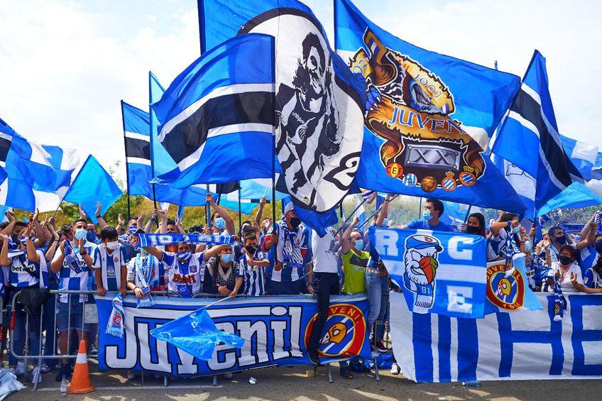 Fanii lui Espanyol sărbătoresc promovarea în La Liga, foto: Imago