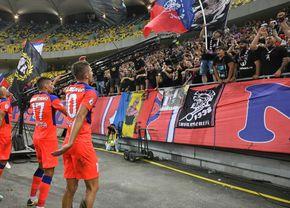 """Suporterii lui FCSB NU mai rezistă: """"Bătaie de joc, ajunge! Dați tricourile jos!"""""""