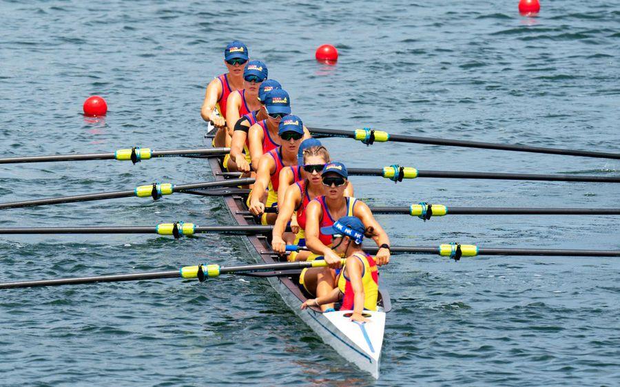 Știri de ultimă oră de la Jocurile Olimpice - 30 iulie 2021 » Barca de 8+1 a terminat finala pe locul 6! David Popovici și Bianca Costearatează semifinala
