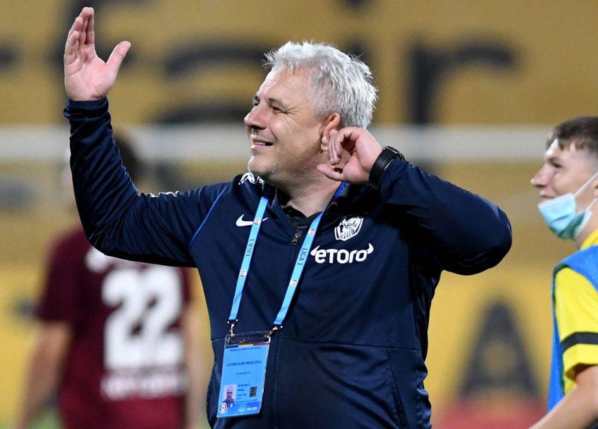 Marius Șumudică, antrenorul celor de la CFR Cluj, foto: Imago