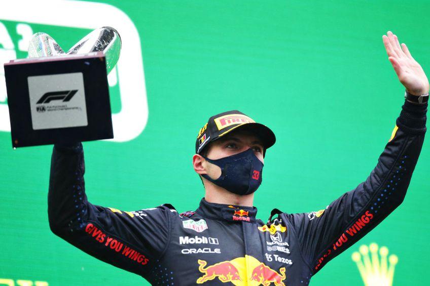 Max Verstappen (23 de ani, Red Bull Racing) a fost desemnat câștigător în Marele Premiu al Belgiei // foto: Guliver/gettyimages