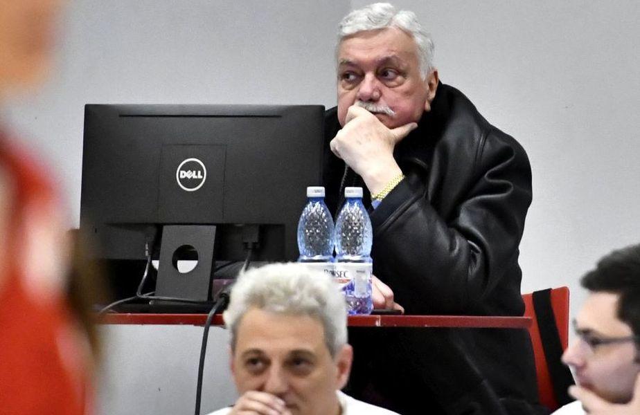 Președintele FR Volei. Gheorghe Vișan