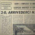 """Cronica din ziarul """"Sportul"""""""