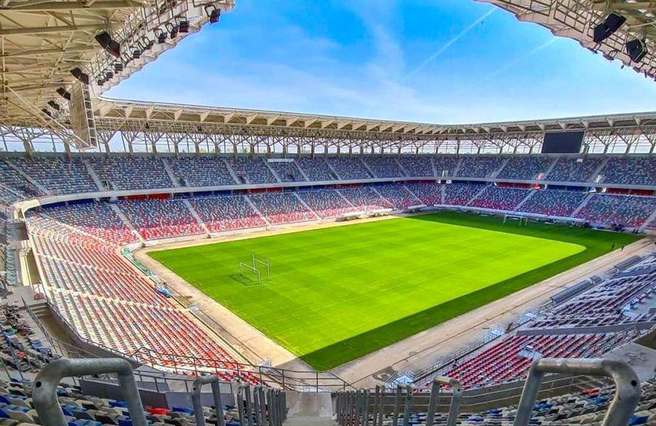"""Stadionul """"Steaua"""" este aproape de finalizare. Sursă foto: CNI"""