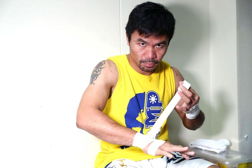"""Manny Pacquiao și-a anunțat oficial retragerea din box: """"Mi-e greu să accept că s-a încheiat"""""""