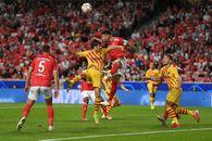 Barcelona, UMILITĂ de Benfica! Mircea Lucescu, eșec usturător » Ce s-a întâmplat în Juve - Chelsea + toate rezultatele serii