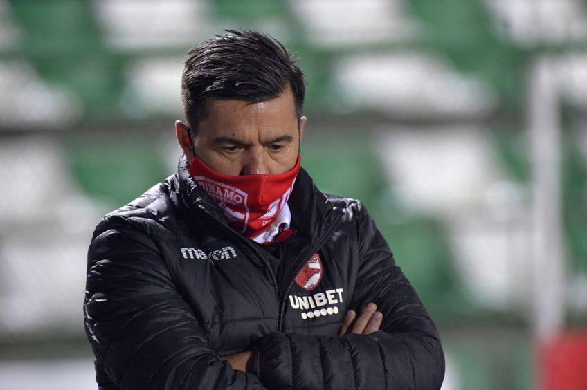 Cosmin Contra, 44 de ani, antrenorul lui Dinamo, a declarat că nu trebuie privit ca o garanție a proiectului spaniol de la formația alb-roșie.