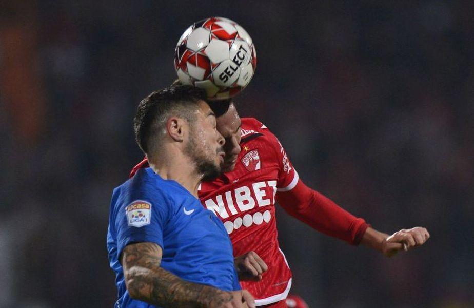 """Gabriel Iancu, 26 de ani, atacant, unul dintre liderii Viitorului, a oferit declarații la finalul partidei cu Dinamo, scor 0-3, din """"16""""-imile Cupei României."""