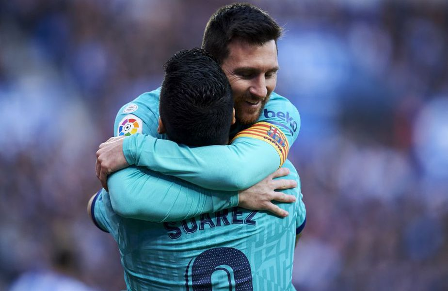 Lionel Messi, Luis Suarez foto: Guliver/Getty Images