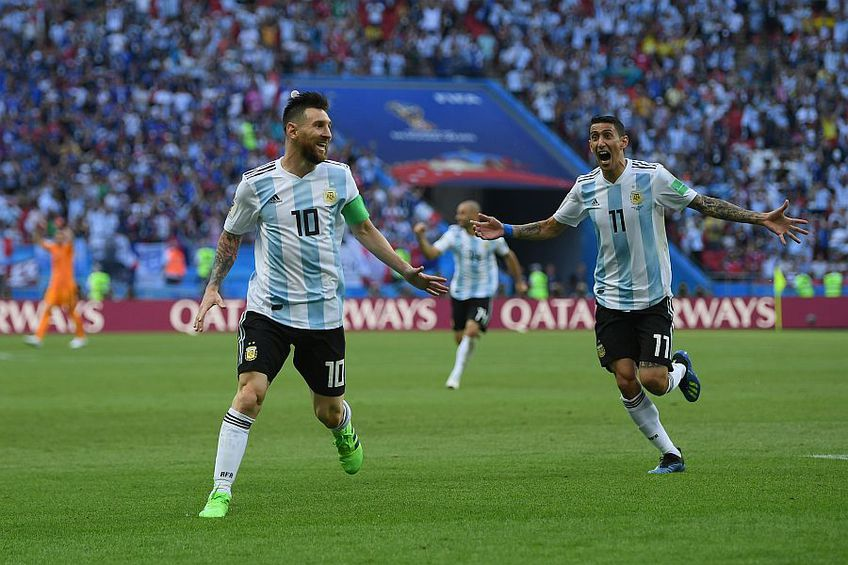 Leo Messi, Angel Di Maria foto: Guliver/Getty Images