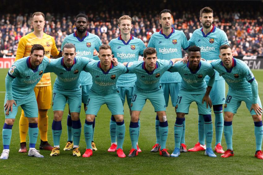 Barcelona, locul 3 în La Liga // foto: Guliver/gettyimages