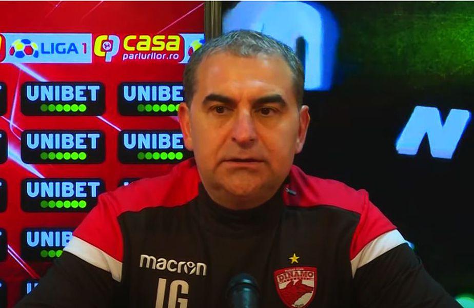 Ionel Gane (49 de ani), antrenorul lui Dinamo, e optimist înaintea deplasării de la Arad, în ciuda problemelor de lot.