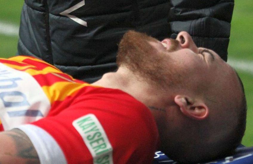 Denis Alibec (30 de ani) nu va mai evolua în acest sezon, susțin oficialii lui Kayserispor.