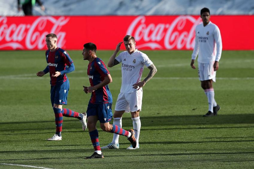 Real Madrid - Levante 1-2 // foto: Guliver/gettyimages