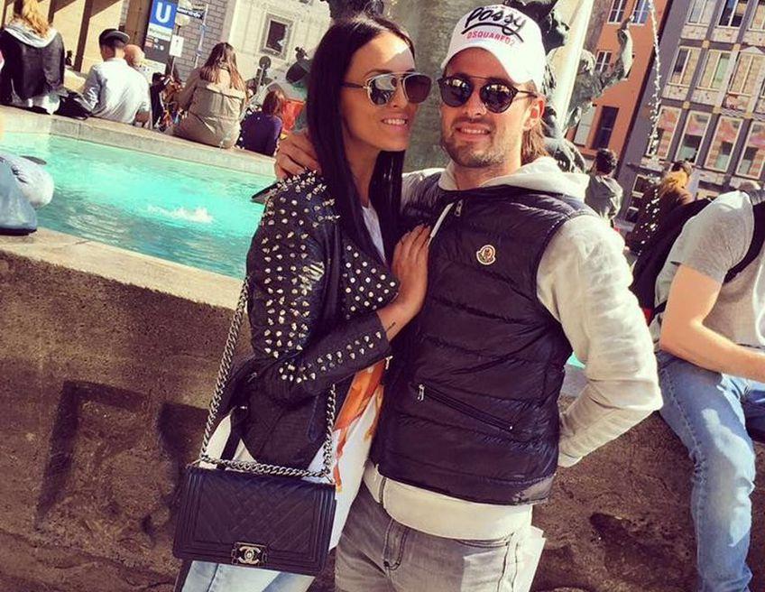 Ante Vukusic (29 de ani), noul atacant de la FCSB, este căsătorit cu prietena din adolescență, Ratka