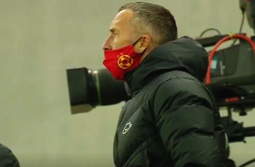 FCSB a cerut penalty în minutul 57 al partidei cu Poli Iași, la scorul de 1-1.