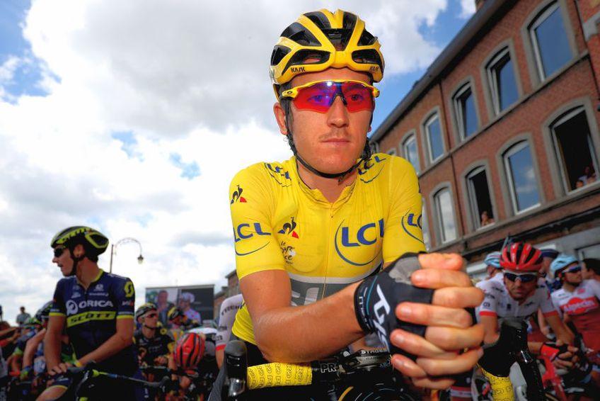 Geraint Thomas a vorbit despre Turul Franței. foto: Guliver/Getty Images