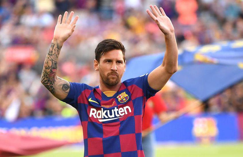 Lionel Messi (32 de ani), căpitanul Barcelonei, anunţă că echipa acceptă tăierea de 70% a salariilor