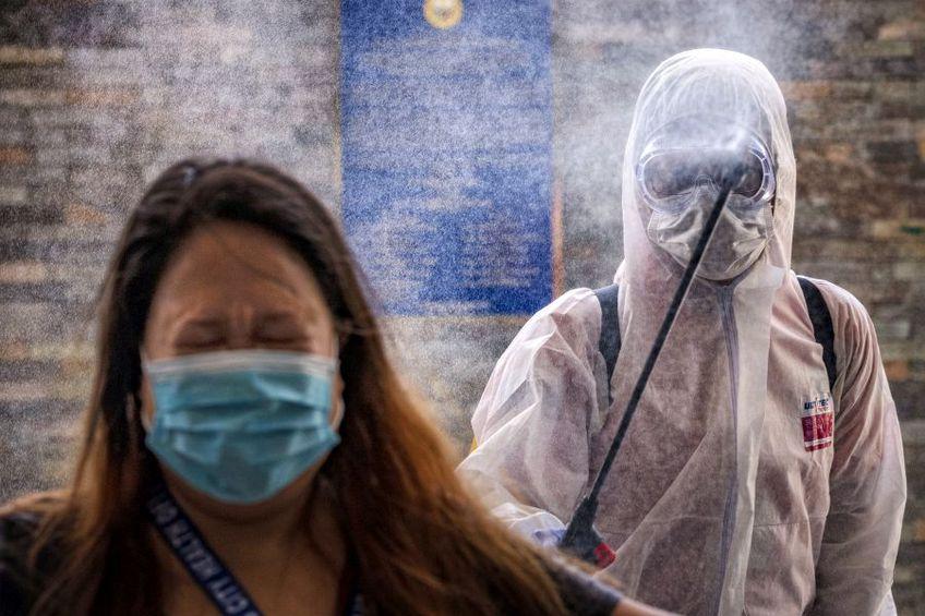 Coronavirusul nu s-ar transmite prin aer, spun specialiștii OMS. foto: Guliver/Getty Images