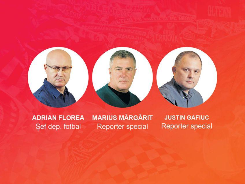 Vocile Gazetei: Adrian Florea, Marius Mărgărit, Justin Gafiuc