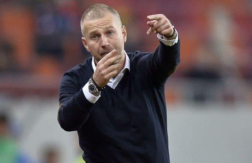 Edi Iordănescu este din ianuarie 2019 tehnicianul lui Gaz Metan, iar în această vară îi expiră contractul