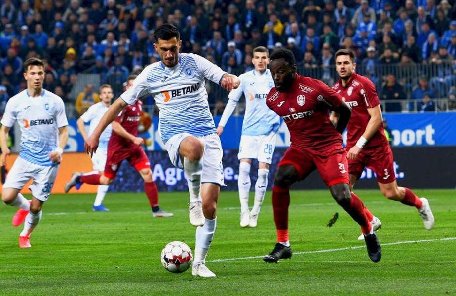 Craiova și CFR Cluj vor ca echipele să aibă 9 rezerve în Liga 1