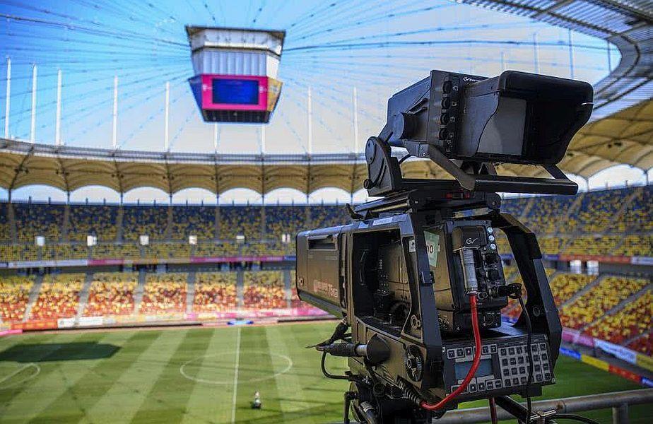 Drepturile TV  sunt o sursă importantă de venit pentru echipele din Liga 1
