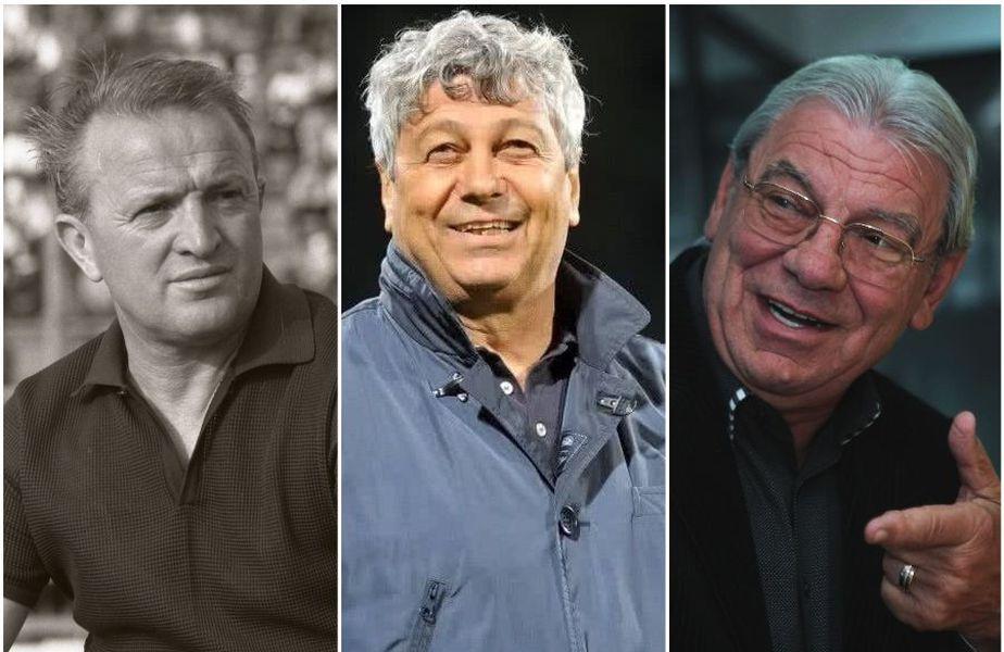 Ștefan Kovacs, Mircea Lucescu și Emeric Ienei sunt în topul celor mai buni antrenori din istorie