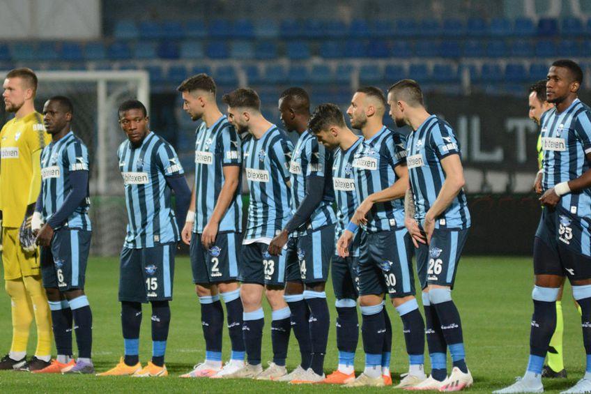 Jucătorii lui Demirspor la un meci din divizia a 2-a a Turciei FOTO Facebook Adana Demirspor Kulübü