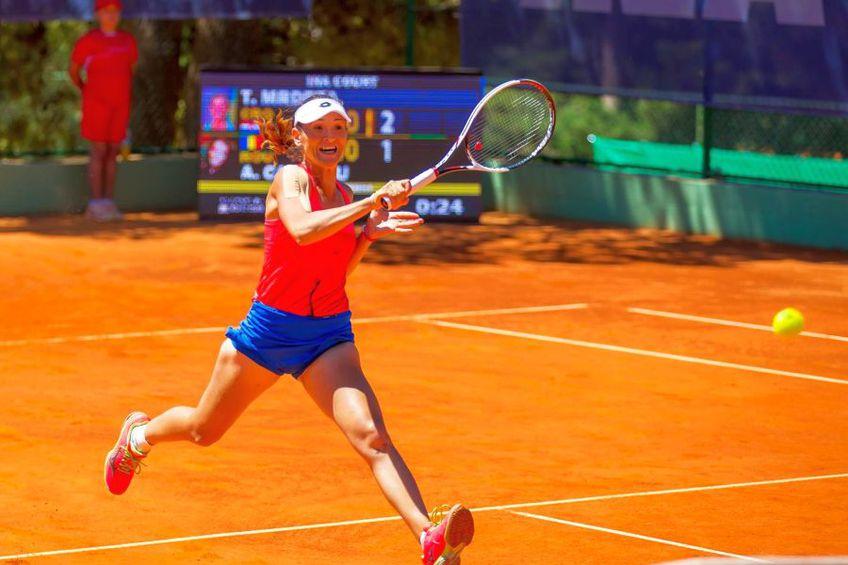 Alexandra Cadanțu, la un turneu ITF jucat în 2017: Sursă foto: NIM Management