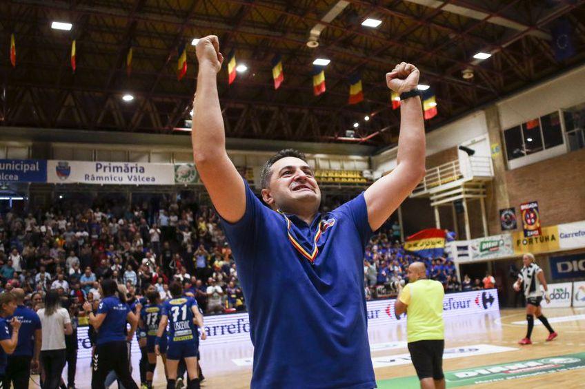 Florentin Pera (41 de ani) pleacă de la SCM Rm. Vâlcea și va încerca să câștige Liga Campionilor cu ȚSKA Moscova FOTO Marius Ionescu