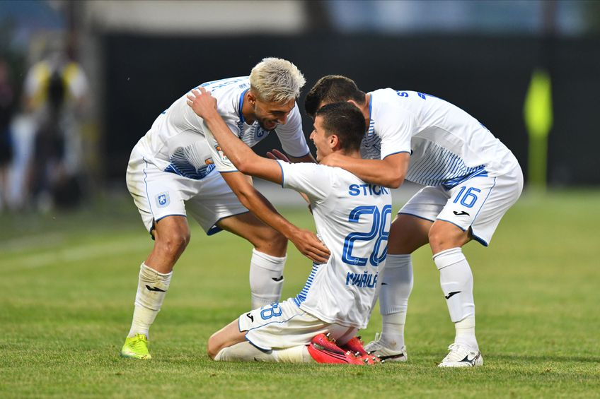 Craiova e pe locul 2 în Liga 1, la un singur punct de liderul CFR Cluj