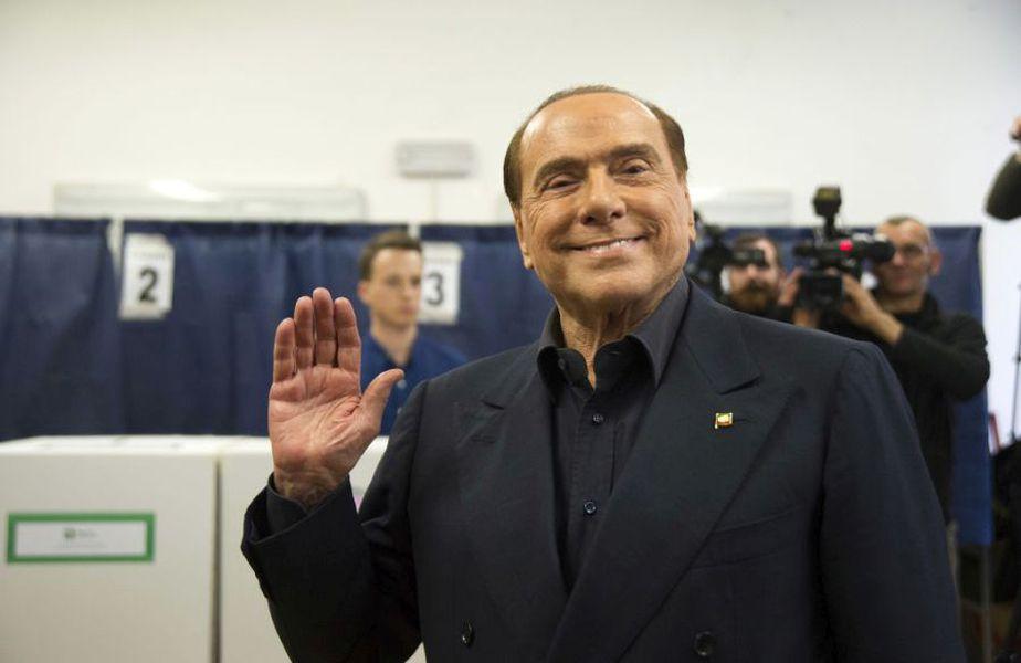 Silvio Berlusconi a fost premierul Italiei în intervalul mai 2008 - noiembrie 2011 // Sursă foto: Getty