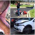 Accidente înb București din cauza substanței cu care a fost spălată șoseaua