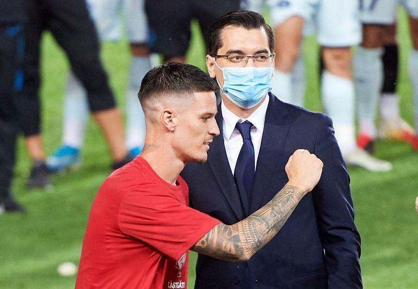 Răzvan Burleanu (36 de ani), președintele FRF, s-a arătat deranjat de decizia FCSB de a nu le permite jucătorilor să meargă la acțiunea naționalei de tineret, din 3-5 august.