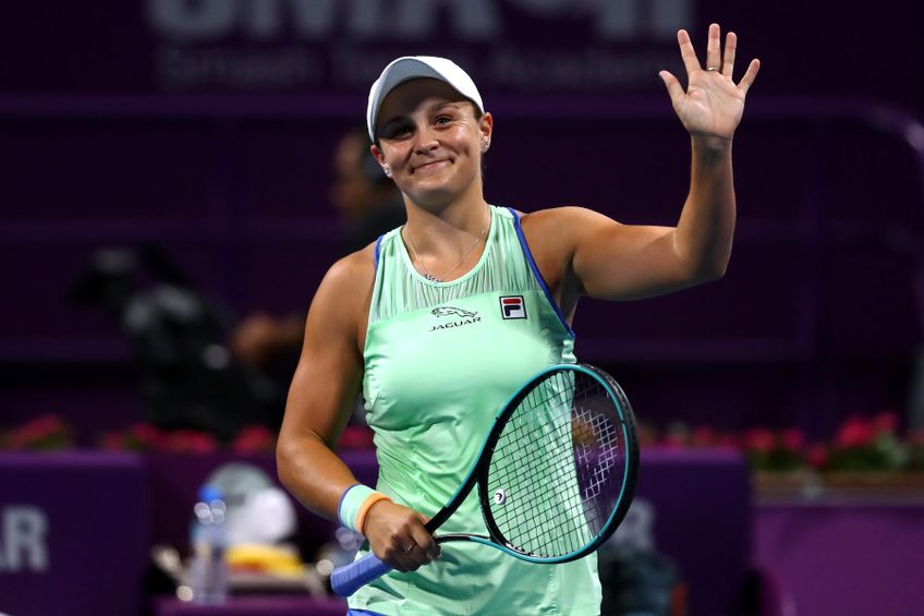 Ashleigh Barty a jucat patru turnee în 2020 FOTO Guliver/GettyImages