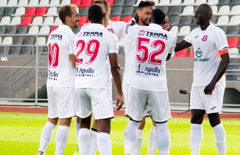 Hermannstadt s-a impus cu Viitorul, scor 2-0 // foto: Facebook @ FC Hermannstadt