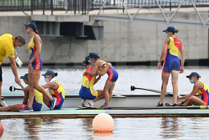 România a terminat pe locul 6 finala de la 8 plus 1 feminin, la Tokyo // FOTO: Raed Krishan