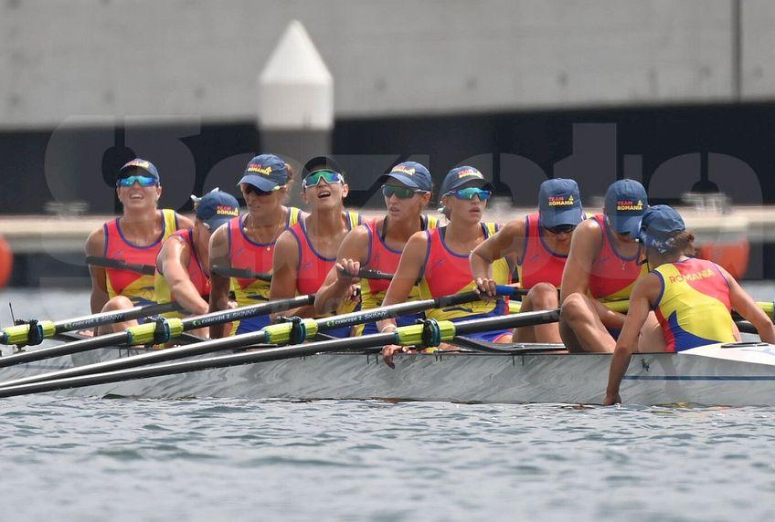 România a terminat pe locul 6 finala de la 8 plus 1 feminin, la Jocurile Olimpice de la Tokyo // FOTO: Raed Krishan